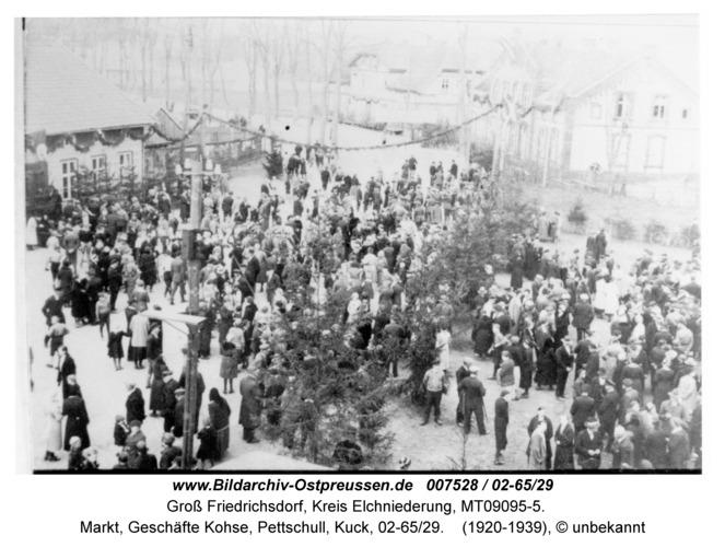 Groß Friedrichsdorf, Markt, Geschäfte Kohse, Pettschull, Kuck, 02-65/29