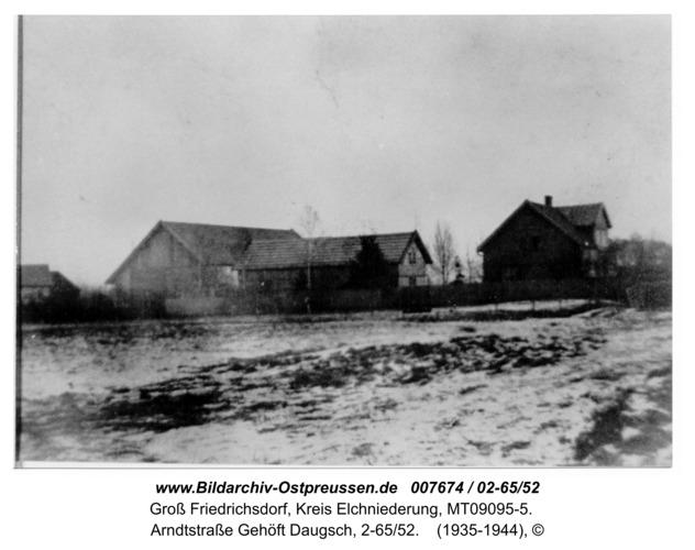 Groß Friedrichsdorf, Arndtstraße Gehöft Daugsch, 2-65/52