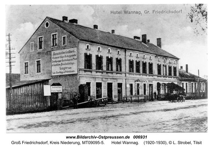 Groß Friedrichsdorf, Hotel Wannag