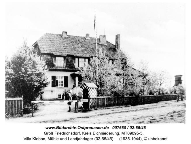 Groß Friedrichsdorf, Villa Klebon, Mühle und Landjahrlager (02-65/46)