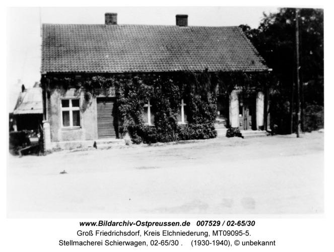 Groß Friedrichsdorf, Stellmacherei Schierwagen, 02-65/30