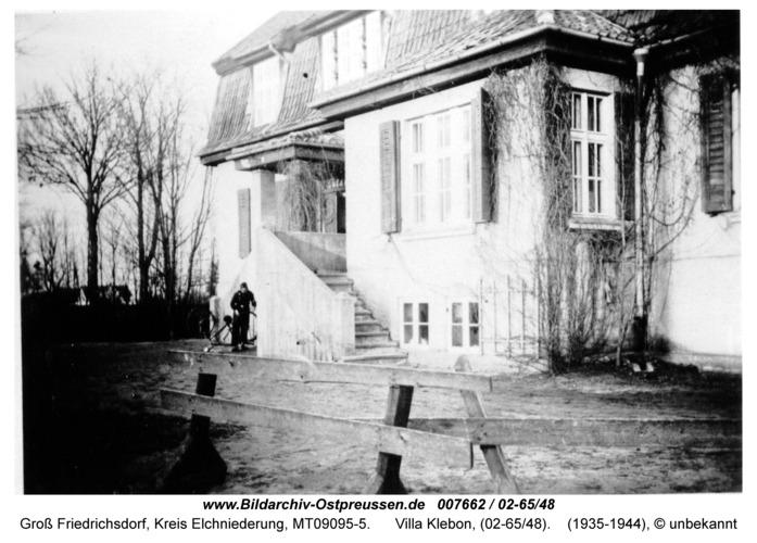 Groß Friedrichsdorf, Villa Klebon, (02-65/48)