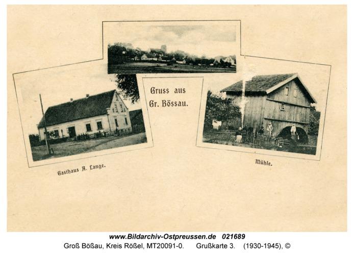 Groß Bößau, Grußkarte 3