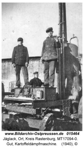 Jäglack, Gut, Kartoffeldämpfmaschine