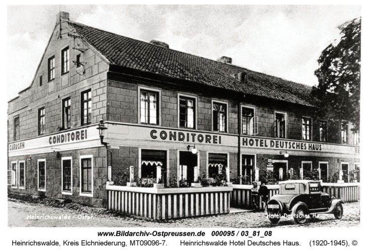 Heinrichswalde, Hotel Deutsches Haus