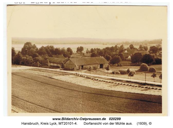 Hansbruch, Dorfansicht von der Mühle aus