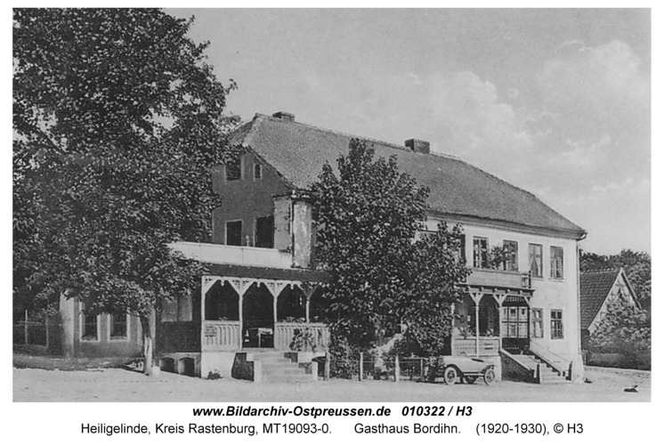 Heiligelinde, Gasthaus Bordihn