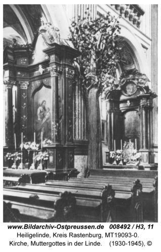 Heiligelinde, Kirche, Muttergottes in der Linde