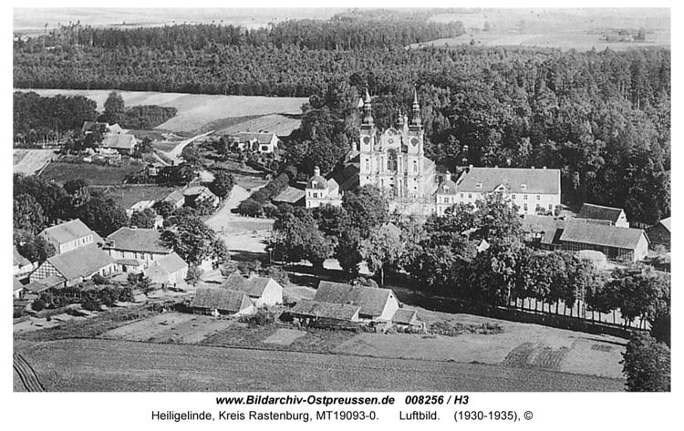 Heiligelinde, Luftbild
