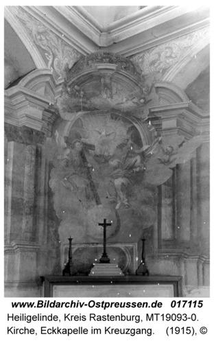 Heiligelinde, Kirche, Eckkapelle im Kreuzgang