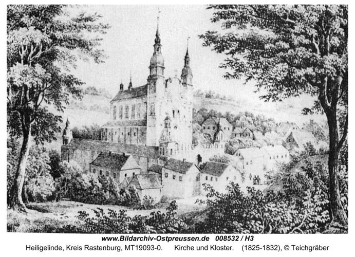 Heiligelinde, Kirche und Kloster