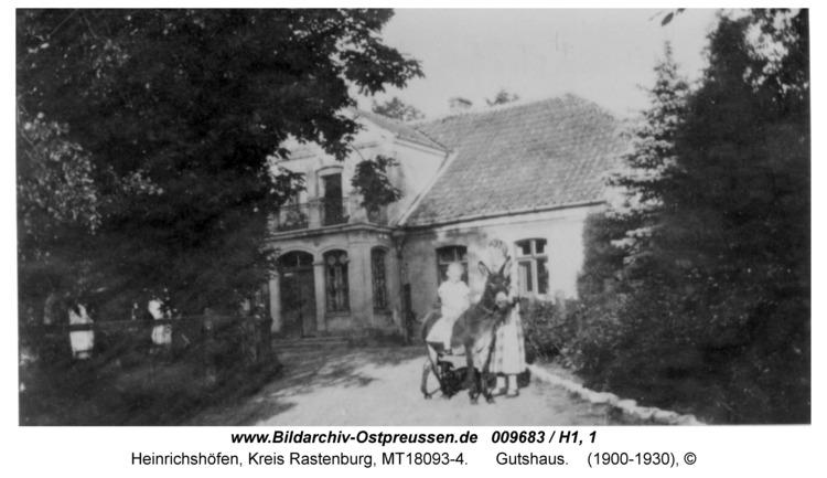 Heinrichshöfen, Gutshaus