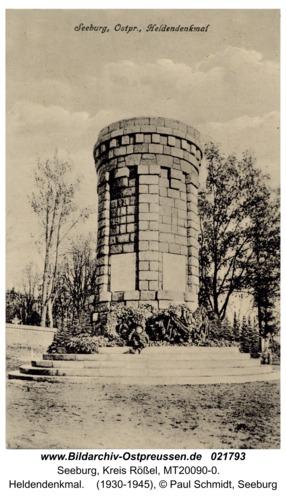 Seeburg, Heldendenkmal