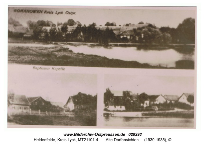 Heldenfelde, Alte Dorfansichten
