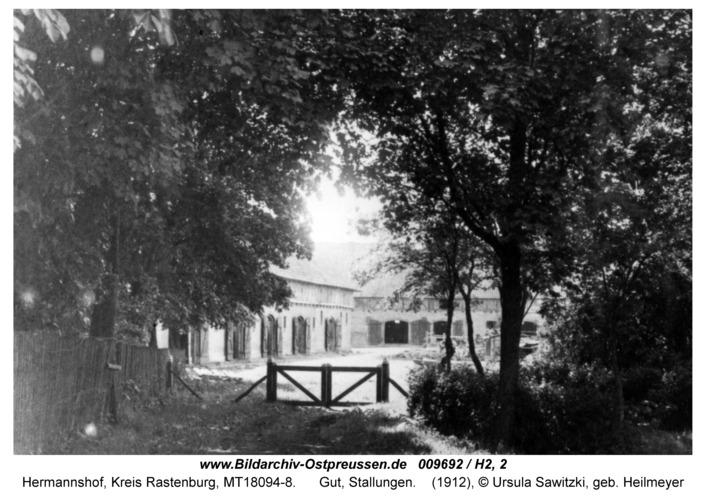 Hermannshof, Gut, Stallungen