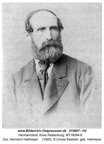 Hermannshof, Gut, Hermann Heilmeyer