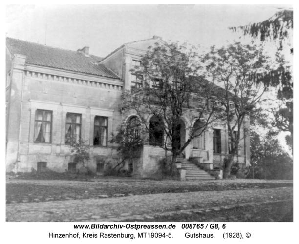 Hinzenhof, Gutshaus