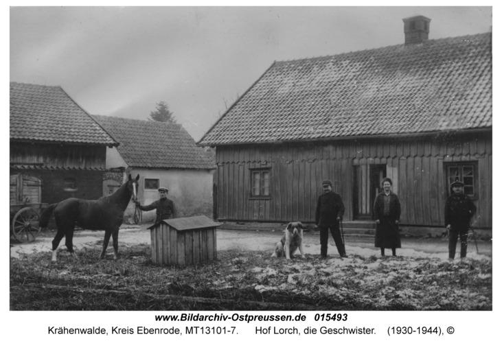 Krähenwalde, Hof Lorch, die Geschwister