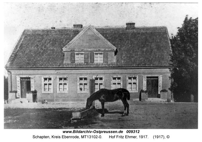 Schapten, Hof Fritz Ehmer, 1917