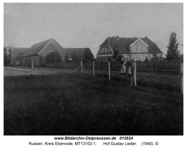 Russen, Hof Gustav Lieder