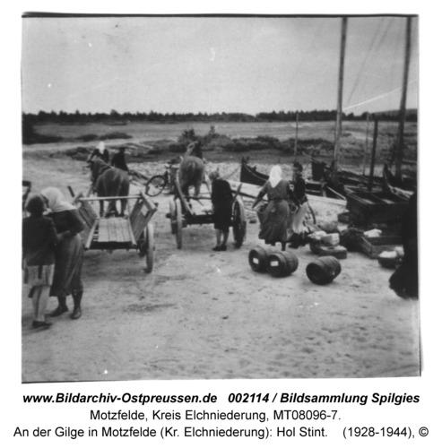 An der Gilge in Motzfelde (Kr. Elchniederung): Hol Stint