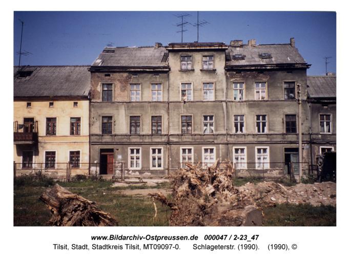 Tilsit, Schlageterstr. fr. Mittelstr.