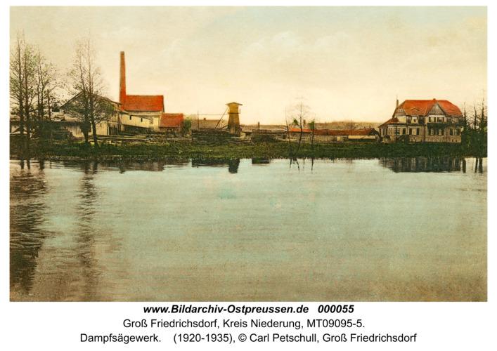 Groß Friedrichsdorf, Dampfsägewerk