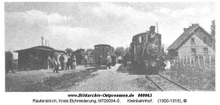 Rauterskirch, Kleinbahnhof