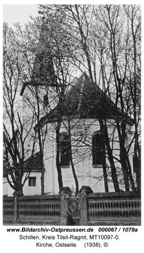 Schillen, Kirche, Ostseite