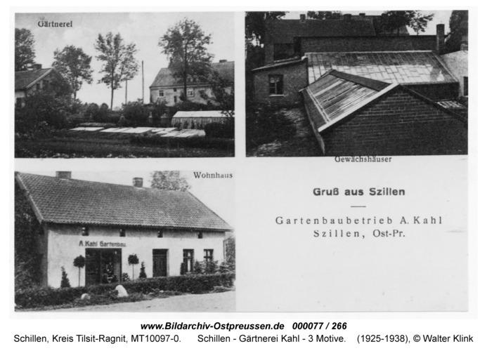 Schillen, Gärtnerei Kahl - 3 Motive