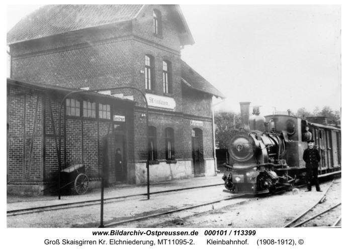 Kreuzingen, Kleinbahnhof