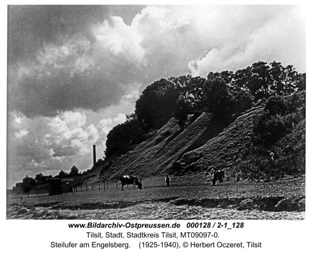 Tilsit, Steilufer am Engelsberg