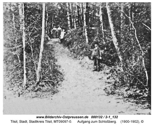 Tilsit, Aufgang zum Schloßberg