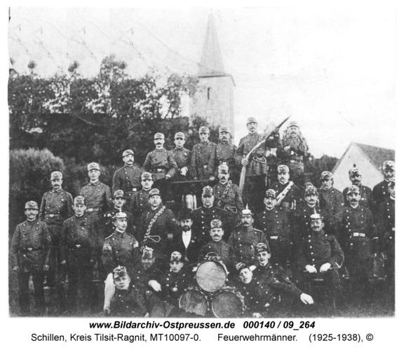Schillen, Feuerwehrmänner