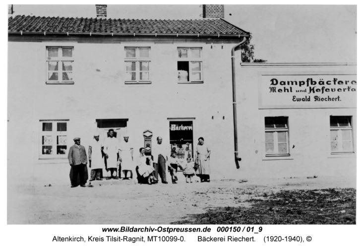 Altenkirch, Bäckerei Riechert