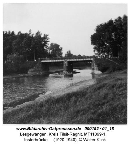 Lesgewangen, Insterbrücke