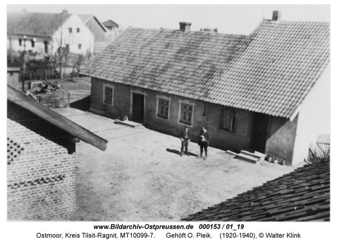 Ostmoor, Gehöft O. Pleik