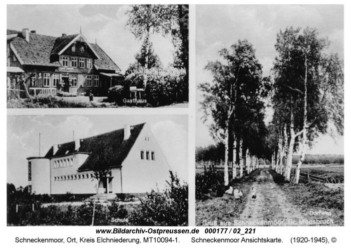 Schneckenmoor, Ansichtskarte