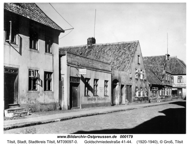 Tilsit, Goldschmiedestraße 41-44