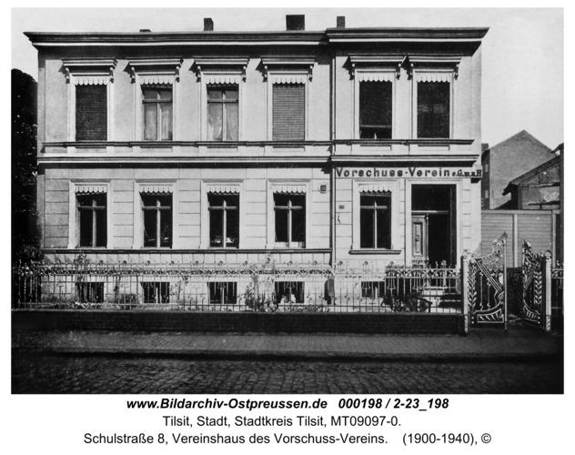 Tilsit, Schulstraße 8, Vereinshaus des Vorschuss-Vereins