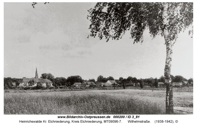 Heinrichswalde, Wilhelmstraße
