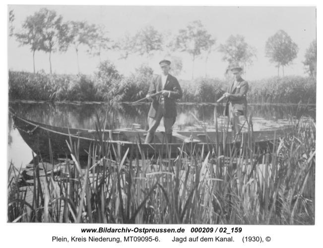 Plein, Jagd auf dem Kanal