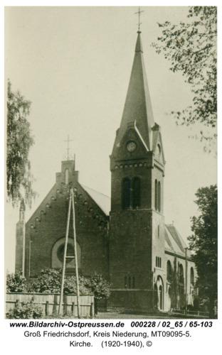 Groß Friedrichsdorf, Kirche