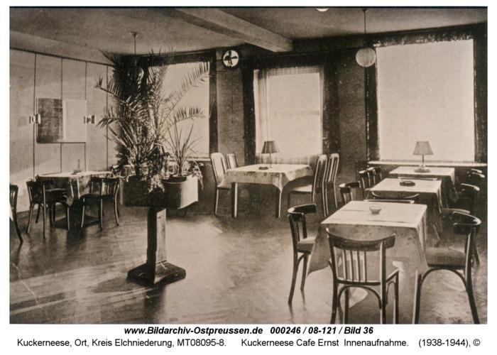 Kuckerneese Cafe Ernst Innenaufnahme