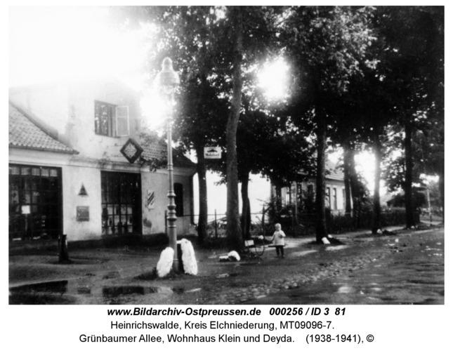 Heinrichswalde, Grünbaumer Allee, Wohnhaus Klein und Deyda