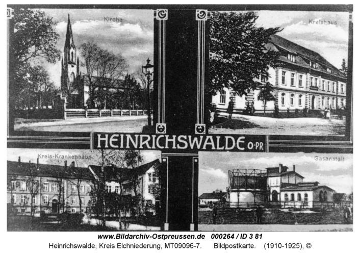 Heinrichswalde, Bildpostkarte