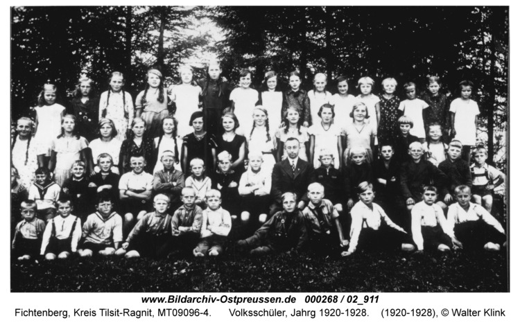 Fichtenberg, Volksschüler, Jahrg 1920-1928
