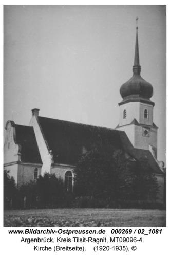 Argenbrück, Kirche (Breitseite)