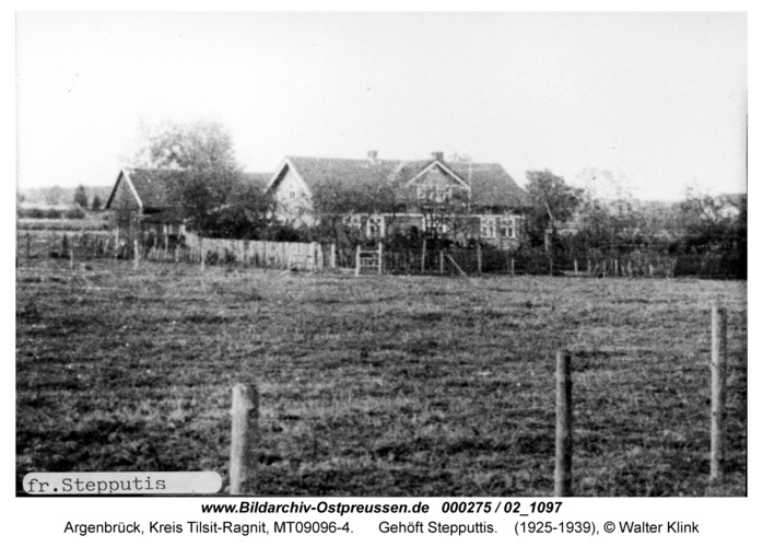 Argenbrück, Gehöft Stepputtis