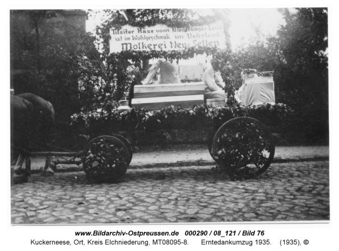 Kaukehmen, Erntedankumzug 1935